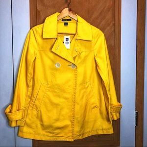 Gap Yellow Jacket Size XS
